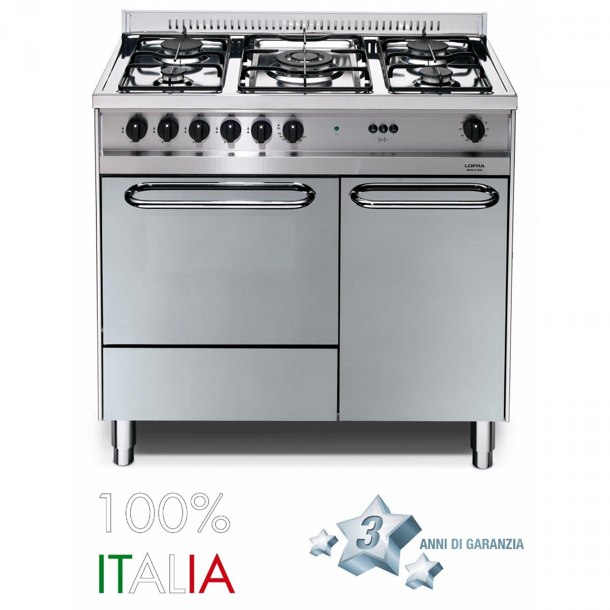 Casa moderna roma italy cucina forno elettrico - Cucine a gas con forno elettrico ...